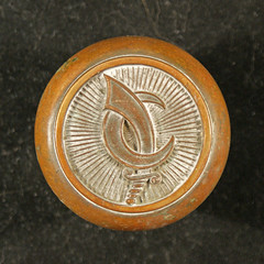 Sword Crescent Moon (Abtexusa) Tags: door building bronze logo 1 office hardware iron monogram landmark historic architect doorknob knob brass