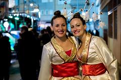Oriental goddesses (Abevil) Tags: beauty f14 mf oriental 2014 carnavaldevinars voigtlnder25mmf095
