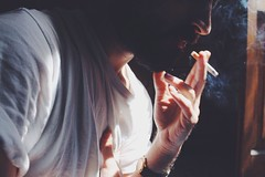(s.gram) Tags: light boy shadow portrait hairy sun sunlight man male men guy me boys face up closeup self hair beard photography model close autoportrait cigarette smoke young guys lips dude smoking cigarettes dudes simonph