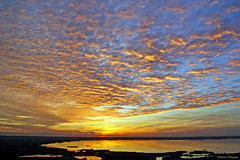 Tramonto sul lago di Massaciuccoli (Darea62) Tags: sunset sky clouds massaciuccoli versilia tuscany lake lipu landscape toscana tramonto massarosa skyscape skyporn paesaggio