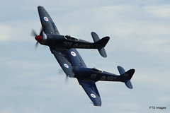 IMG_9518 (harrison-green) Tags: show sea museum plane flying war fighter aircraft aviation air airshow legends duxford imperial spitfire mustang fury iwm me109 2015