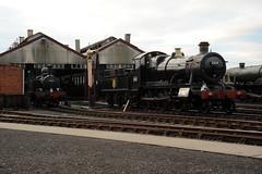 GWS 34384 (kgvuk) Tags: trains locomotive railways didcot 260 steamlocomotive 460 gws burtonagneshall didcotrailwaycentre 48xx modifiedhall 6998 4866 5322 1466 14xx greatwesternsociety didcotengineshed 042t 81e 6959class 43xx