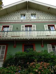 Vichy - Chalet Eugénie (Cherryl.B) Tags: vichy allier chalet maison empereur napoléon colonie balcon boiseries tourisme