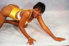 Karin Philadelphia Studio Golden Yellow Cabaret Costume Aug 1994 030 (photographer695) Tags: karin philadelphia studio golden yellow cabaret costume aug 1994