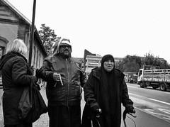 B&W. Street / Copenhagen (Arnar Steinthorsson) Tags: bw blackandwhite bn blackwhite arnar street steinthorsson streetphotography streephotography smallsensor s90 grain photography shadows portrait people persons powershot