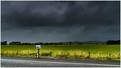 The Sound of One Mailbox Waiting (niggyl (well behind)) Tags: hawkesbay newzealand sonyilce7rm2 sony sonya7rii sony247028gm fe2470mmf28gm fe2470gm woodville highway2 mailbox cloudsstormssunsetssunrises therebeastormabrewin southernhemispheresky roadside
