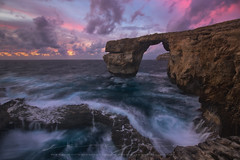Good Bye Azure Window (sgsierra) Tags: azure window malta gozo atardecer sunrise