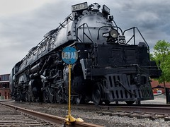 Union Pacific Big Boy 4012 (Cody Wms) Tags: history up nps trains olympus unionpacific nationalparks omd railroading