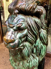 lion head (BlogKing) Tags: philadelphia unitedstates pennsylvania centercity lionstatue