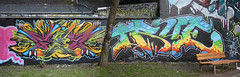 ges & true (wallsdontlie) Tags: true graffiti halloffame ges