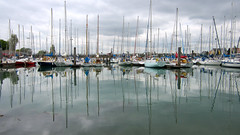 all at sea... (mag2003...) Tags: boats sailing harbour royal portsmouth yachts naval masts association