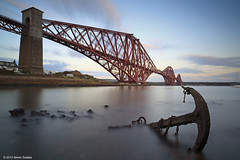 Anchorage (SwaloPhoto) Tags: scotland fife availablelight victorian bridges engineering chain le northsea anchor ze firthofforth estuaries northqueensferry cantilever networkrail leefilters theforthbridge canoneos5dmkii distagont2821 bigstopper