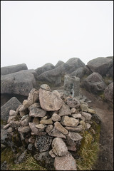 Ben Cruachan Summit (chimpaction) Tags: mountain scotland nikon summit argyle cairn munro trigpoint d90 bencruachan