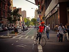 19th and Broadway Biker (chapterthree) Tags: street nyc fashion bike photography one highresolution broadway phase iq180
