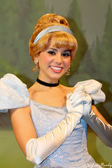 Cinderella (disneylori) Tags: mainstreet princess disney disneyworld characters cinderella wdw waltdisneyworld magickingdom townsquare mainstreetusa disneyprincess disneycharacters facecharacters meetandgreetcharacters cinderellacharacters townsquaretheater
