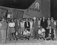 Evacuation of liberated prisoners from Hong Kong  1945 (SSAVE) Tags: hongkong japanese wwii worldwarii nara kowloon usaaf