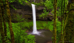 South Falls (- Aman Agarwal -) Tags: usa green water oregon canon waterfall pacific northwest or south falls silverfallsstatepark columbiarivergorge canoneos7d amanagarwalphotography