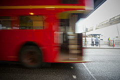 Routemaster (Future-Echoes) Tags: red motion bus london movement motionblur routemaster