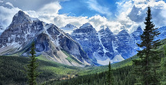 The Canadian Rockies (Jeff Clow) Tags: mountains nature landscape bravo albertacanada banffnationalpark canadianrockies tpslandscape