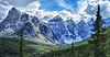 The Canadian Rockies (Jeff Clow) Tags: mountains nature landscape bravo albertacanada banffnationalpark canadianrockies tpslandscape