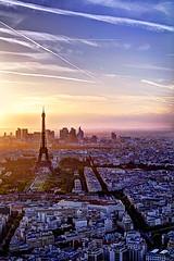 Paris (rileyj323) Tags: travel sunset paris france tower vertical landscape eiffeltower eiffel hdr