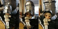 Chevalier helmet / Blythe A Day 12 September 2014 - KNIGHT