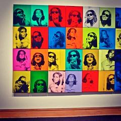"Left Detail of Andy Warhol ""Ethel Scull 36 Times"" (1963) - Metropolitan Museum Of Art NYC (Christian Montone) Tags: nyc newyorkcity art museum modernart metropolitanmuseumofart"