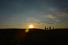 Valeria (Vega <3) Tags: espaa naturaleza color sol contraluz atardecer reflex spain nikon pueblo cielo nubes verano campo valeria naranja vacaciones cuenca castillalamancha arqueologa nikond3200 d3200
