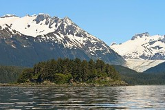 Favoutite Channel (Michael Cowan) Tags: vacation mountain snow plant tree water alaska river island boat unitedstatesofamerica country places glacier juneau transportation vehicle starprincess theloveboat aukebay princesscruiseline 2013alaskacruise favouritechannel