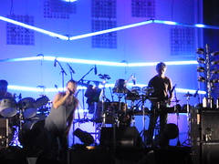 Atoms for peace in concert (Caterina M.) Tags: concert live radiohead redhotchilipeppers amok atomsforpeace