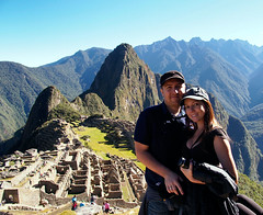 Me and Luciana at Machu Picchu