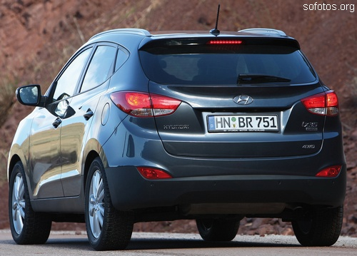 Hyundai ix35 traseira