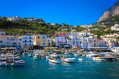 Capri Harbour (Dave Coleman.) Tags: italy capri