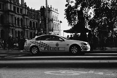 Queensland Police Car (Nimal S) Tags: film 35mm canon blackwhite canonet fomapan fomapan200creative