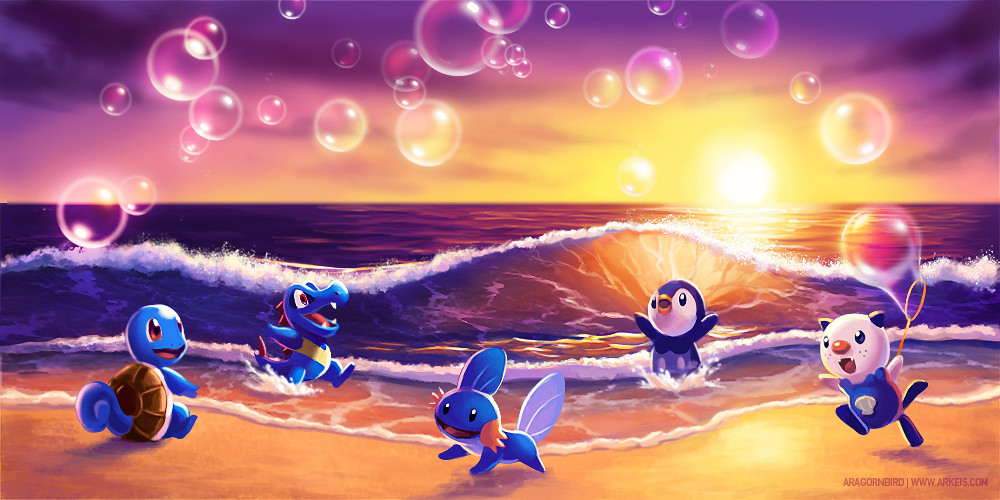 bubbles_at_the_beach_by_arkeis_pokemon-d42329w