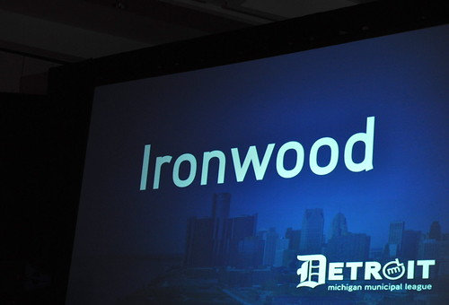 City of Ironwood Wins 2013 Community Excellence Award from Michigan Municipal League