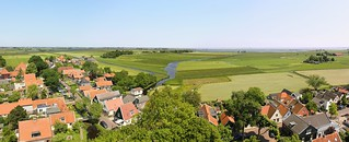 Waterland is a protected rural landscape of open fields and small villages