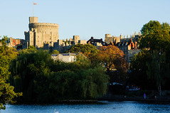 Windsor Castle (Tomas Burian) Tags: uk travel autumn england color building castle english history water colors thames architecture buildings river catchycolors evening town ancient nikon europe day view riverside image unitedkingdom britain united great picture royal kingdom bluesky tourist architectural historic clear rivers gb windsor historical british colourful nikkor berkshire riverthames attraction windsorcastle 2010 culturalheritage haritage d90 nikond90 nikkor18105