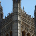 Detail of Victoria Tower, Palace of Westminster