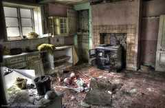 Abandoned Kitchen HDR (Scott Cartwright Photography) Tags: abandoned kitchen architecture canon creepy spooky hdr professionalphotographer canoncameras scottcartwright shrewsburyphotographer shropshirephotographer shrewburyfreelancephotographer scottcartwrightphotography shropshirefreelancephotographer shrewsburyprofessionalphotographer