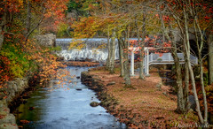 Water Falls, Windham NH (madre11) Tags: color fall water landscape scenery newengland newhampshire waterfalls mills creativemindsphotography