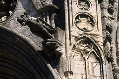 Bayeux, cathdrale Notre-Dame, gargouille (Ytierny) Tags: sculpture france statue horizontal architecture roman pierre religion normandie btiment gothique calvados gargouille bayeux edifice cathdralenotredame bessin lieudeculte bajocasse bayeusain vieuxbayeux ytierny