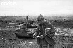 16 Dec 1970, Con Thien (tommy japan) Tags: christmas people men private soldier army reading holding war asia southeastasia tank military unitedstatesofamerica battle vietnam gift letter vehicle americans males whites adults cavalry correspondence armedforces militaryvehicle youngadults unitedstatesarmy southvietnam 1andfew militarypersonnel historicevent americanarmedforces asianhistoricalevent northamericanhistoricalevent unitedstateshistoricalevent vietnamwar19591975 vietnamesehistoricalevent motorvehicle conthienfirebase enlistedpersonnel 5thcavalry jameshekman vision:mountain=0589 vision:beach=0671