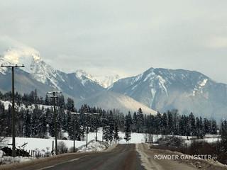 Heading onvthe Powder Highway