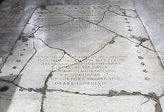 Where St Dominic Prayed (Lawrence OP) Tags: rome stone basilica prayer marble relic santasabina stdominic