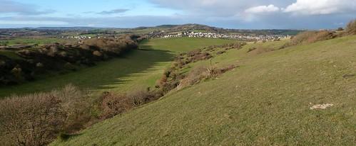 On Bembridge Down - Isle of Wight