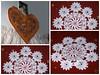Þemaklúbburinn/ handavinna (helga 105) Tags: red handmade cloth rautt dúkur handavinna helga105 svuntaaprion heklaður crochetediceland