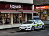 Cooplands. Iceland. Police (Man of Yorkshire) Tags: car shop iceland gm yorkshire centre police bakery takeaway emergency patrol astra bluelight vauxhall bakers 999 doncaster 5door cooplands southyorkshirepolice justicewithcourage eastlaithegate yr63otd