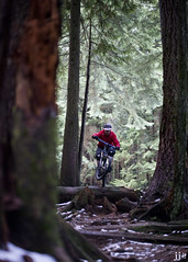 Xmas Eve Ride (Jeremy J Saunders) Tags: vancouver ride mountainbike ibis trail northshore hd northvancouver mojo freeride fromme jjs d800 jeremyjsaunders