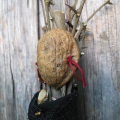 Thorn Witch (michellesimkins) Tags: sculpture art handmade assemblage figure homegrown productphotos